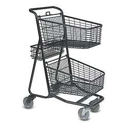 Two Tier Basket Carts