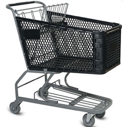 Large Plastic Shopping Carts