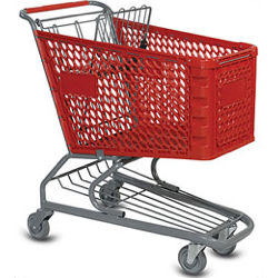 Medium Plastic Shopping Carts