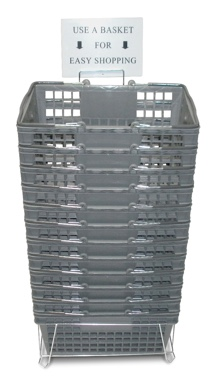 Gray Basket