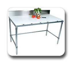 KD Galvanized Base Cutting Tables