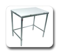 M - KD Galvanized Base Cutting Table