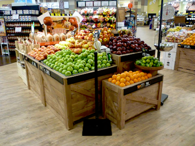 View Produce Displays