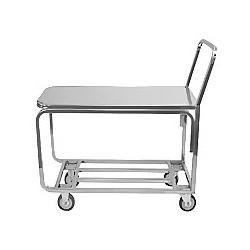 Chrome produce cart