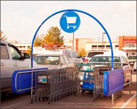 Galvanized Cart Corrals