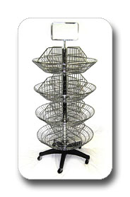 Wire Spinner Rack