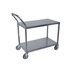 Solid Two Tier Utility Cart SSUCR2036