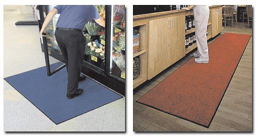 Stylist & Tri-Grip Floor Mats in use.