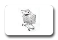 Medium Used Shopping Carts