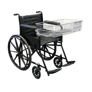 Wheel Chair with Front Basket