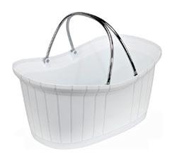 Perfumery Basket - White