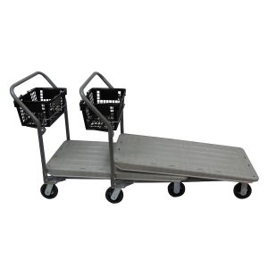 Nesting Flatbed w/ Hand Basket Holder