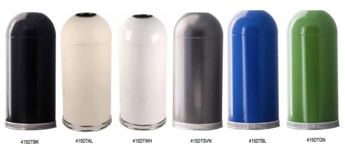Dome Top Standard Color Range