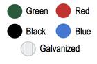 EXP Receptacle Colors