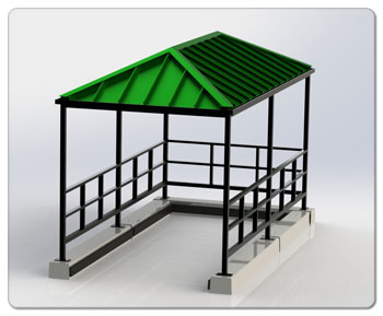 Hip Roof Corral