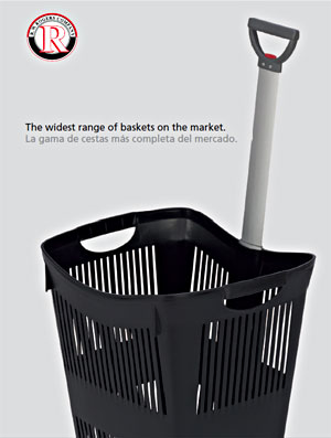 Hand Baskets, Rolling Shopping Baskets - R.W. Rogers Company