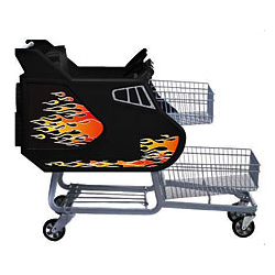 Child Two Tier Shuttle Shopping Cart