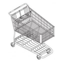 424W Shopping Cart