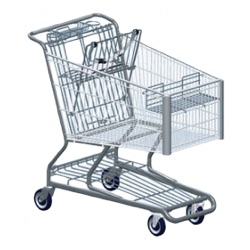 444W, 447X, 449W Shopping Cart