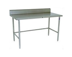 S16RB - Stainless Steel Work Table w/ Riser