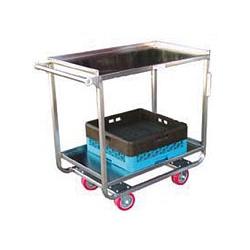 Heavy Duty Stainless Steel Utility Carts SUCR2133-2
