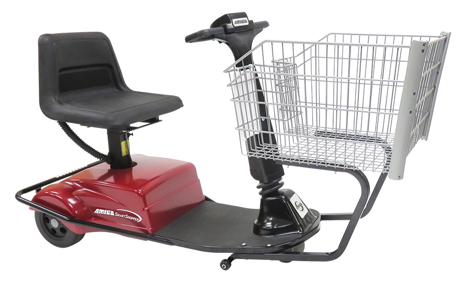 Motorized Handicap Shopping Carts, Motorized Grocery Cart - R.W. Rogers