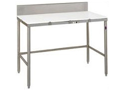 Stainless Steel Poly Top Cutting Tables