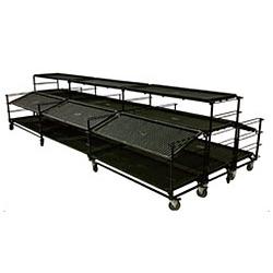 Benching Tables Displays