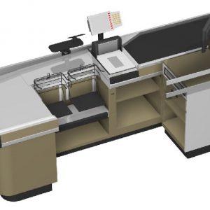 SBP-016 Checkout Counter