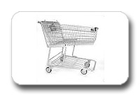 Used Jumbo Shopping Carts