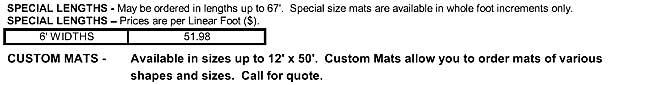 Waterhog Eco Elite Roll Goods Special Lengths