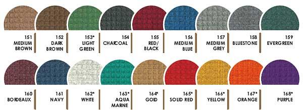 Waterhog Fashion Color Options