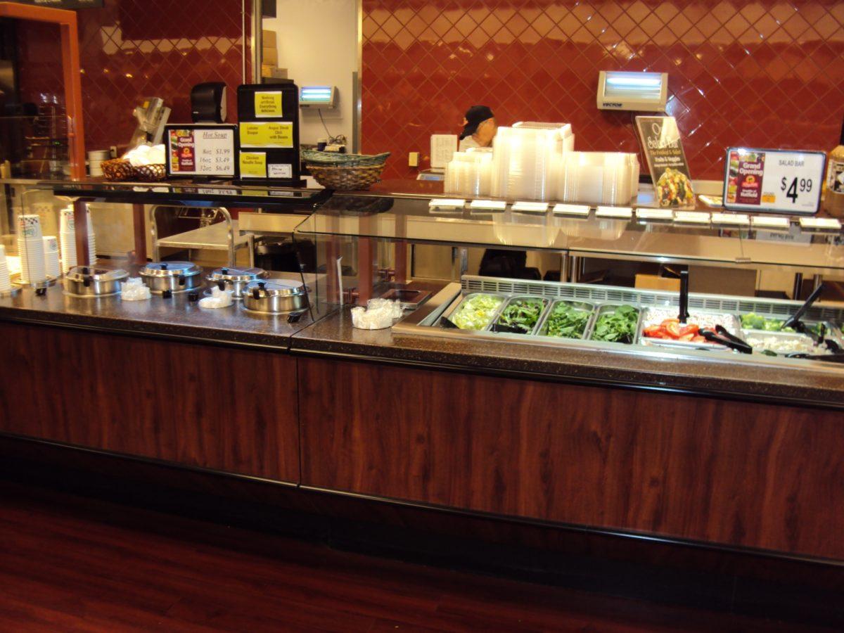 Hot cold food bars rw rogers for Food bar 2015