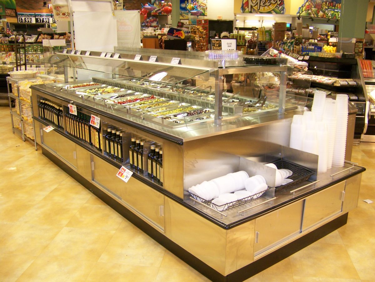 Olive Bars Commercial Soup And Equipment Our Craftsmen Combine Outstanding Design With Expert Millwork Stainless Steel Fabrication