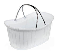 Perfumery Basket - White