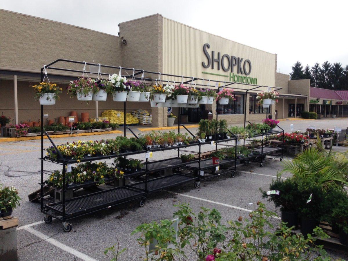 Benchline Garden Center Shelving Units Plant Displays R