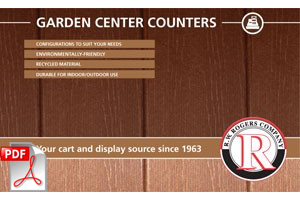 Garden Center Checkout Counter Catalog