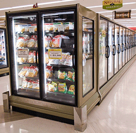 Reach-In Frozen Food and Ice Cream