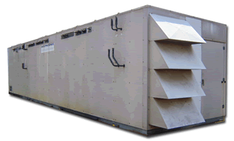 Outdoor Refrigeration Machine House
