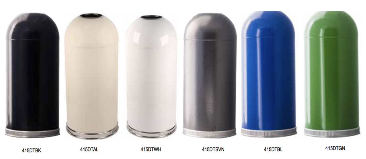 Dome Top Standard Color Range