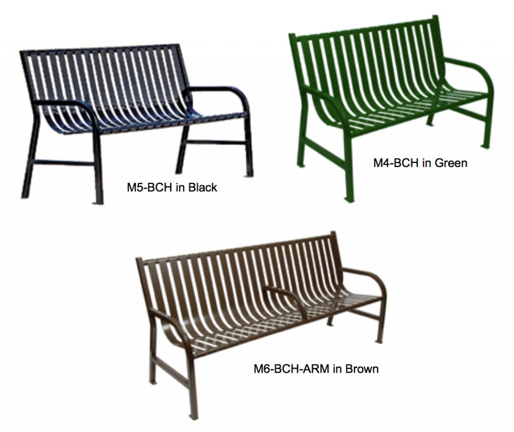 Amazing Outdoor Metal Benches Metal Park Benches R W Rogers Machost Co Dining Chair Design Ideas Machostcouk