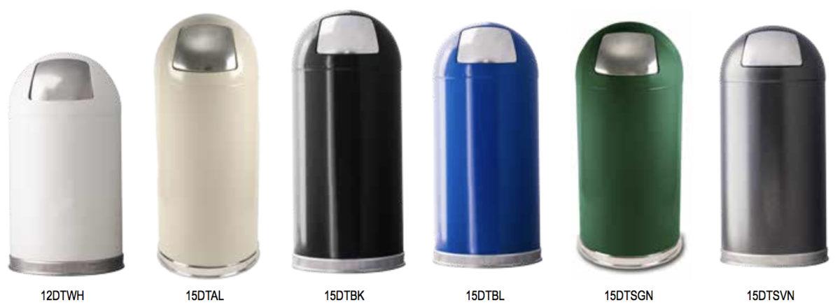 Push Top Standard Color Range