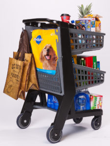 Co-Polymer Plastic Shopping Cart - Convenience Size