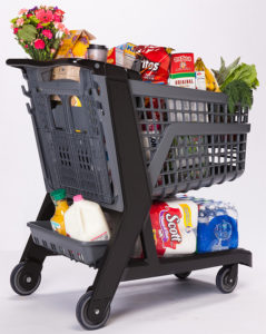 Co-Polymer Plastic Shopping Cart - Full Size