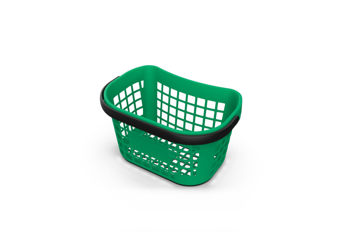 FIT Basket Green