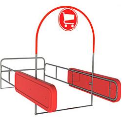 Bumper Cart Corral – Arc Style