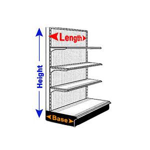 Shelving Size Chart