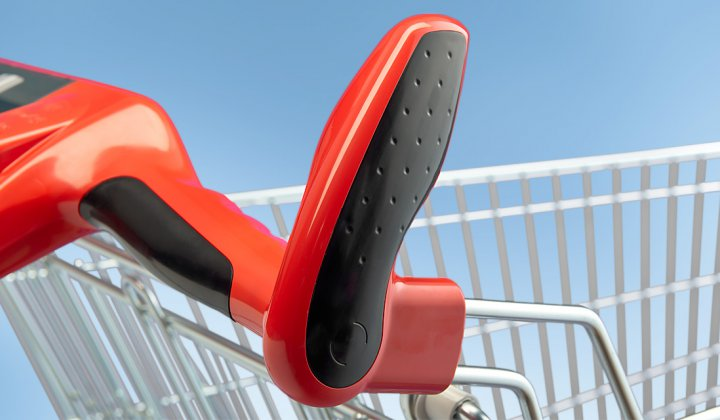 Anti-Static shopping cart handles