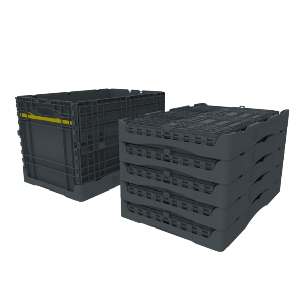 Collapsible Container stacked