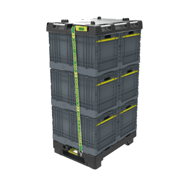 Collapsible Container On Pally